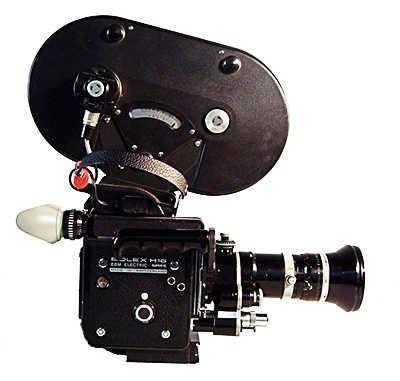 16mm bolex camera with 400 foot magazine