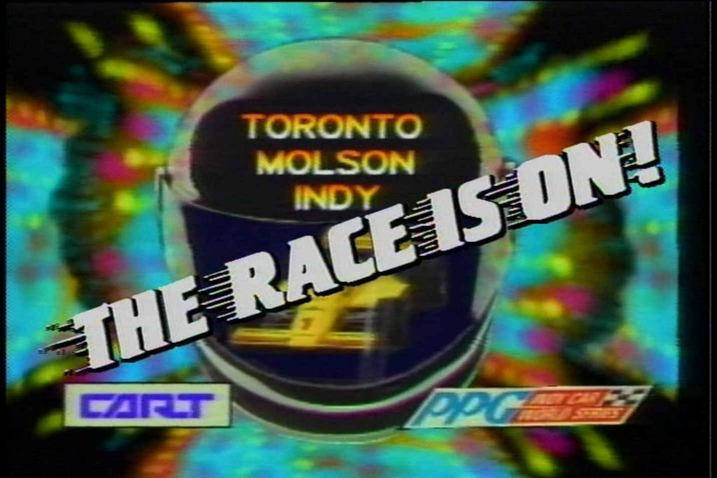 title card - race is on