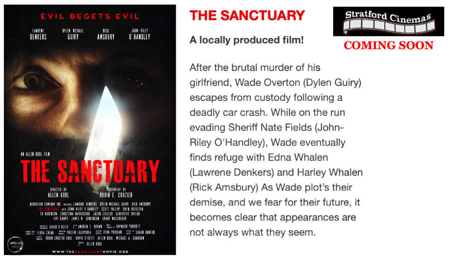 The Sanctuary coming soon poster and synopsis
