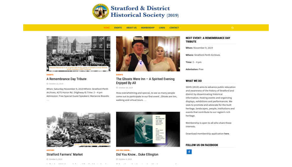 sdhs home web page