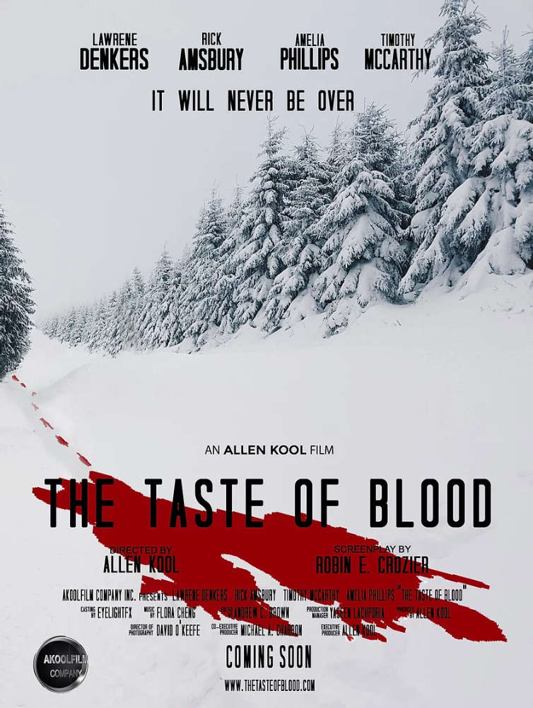 the taste of blood poster
